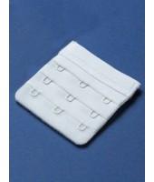 Удлинитель объёма бюстгальтера белый (3)