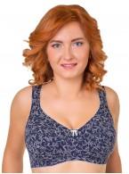 Бюстгальтер Valmira 1121 KLARA Синий с молоком