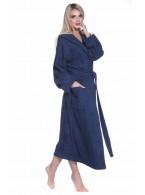 Махровый халат с капюшоном SPORT&Life (Е 901-1)