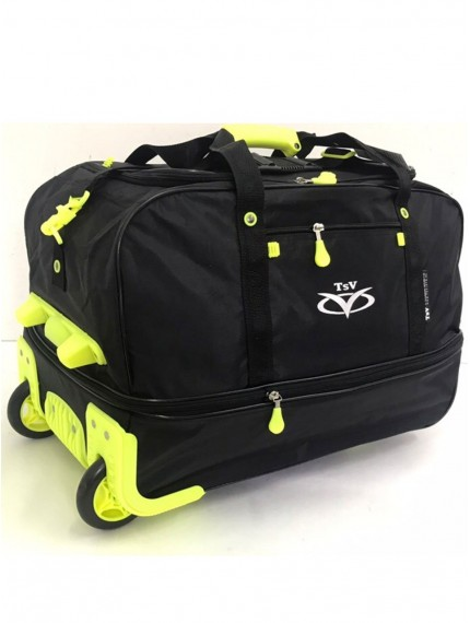 Сумка на колесах TsV 442,20 черный/лимон