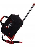 Дорожная сумка на колесах TsV 441.20 чёрный/металл