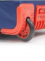 Дорожная сумка на колесах TsV 443,20 синий/апельсин