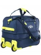 Дорожная сумка на колесах TsV 443,20 синий/лимон