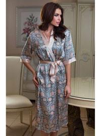 Шёлковый халат-кимоно Mia-Mia Dior