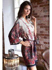 Шёлковый халат Mia-Mia Shakira