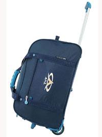 Дорожная сумка на колёсах TsV синяя